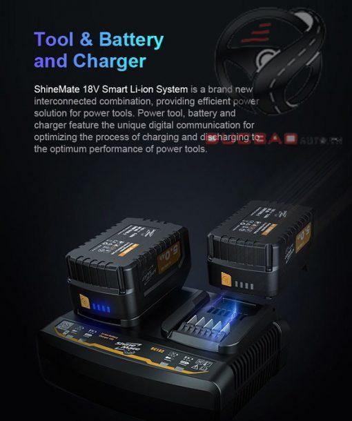 18v Smart Li Ion System