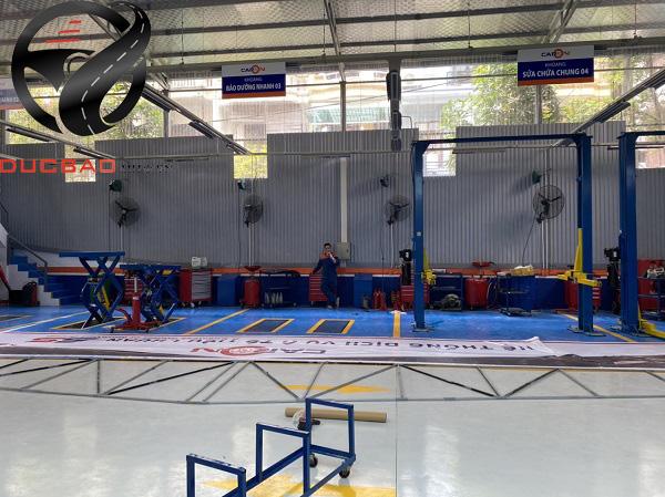 Sàn của trung tâm đã và đang bổ sung đầy đủ các dụng cụ cần thiết